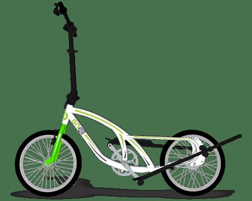 Bike Eliptica OnEll Branca-min