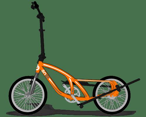 Bike Eliptica OnEll Laranja-min